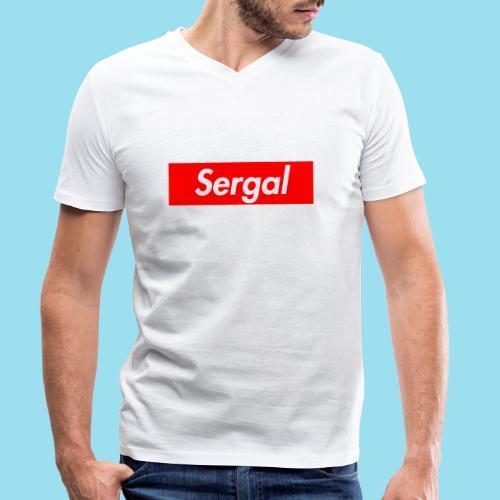 SERGAL Supmeme - Männer Bio-T-Shirt mit V-Ausschnitt von Stanley & Stella