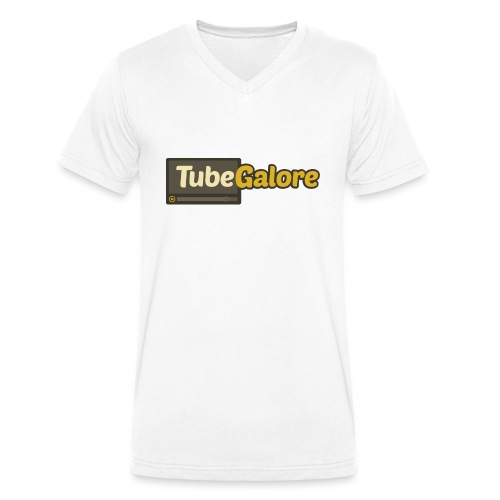 tubegalore design - Men's Organic V-Neck T-Shirt by Stanley & Stella