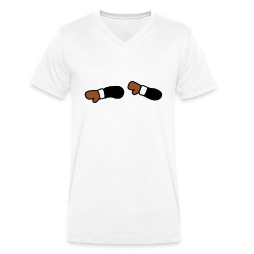 DabbingDab LOGO - Camiseta ecológica hombre con cuello de pico de Stanley & Stella