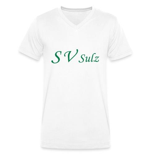 svs schrift 2 - Männer Bio-T-Shirt mit V-Ausschnitt von Stanley & Stella
