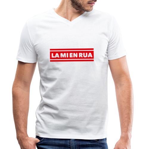La mi en Rua - Männer Bio-T-Shirt mit V-Ausschnitt von Stanley & Stella