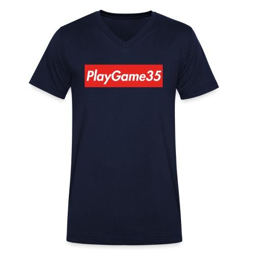 PlayGame35 - T-shirt ecologica da uomo con scollo a V di Stanley & Stella