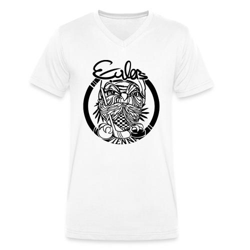 Eulers on White - Männer Bio-T-Shirt mit V-Ausschnitt von Stanley & Stella