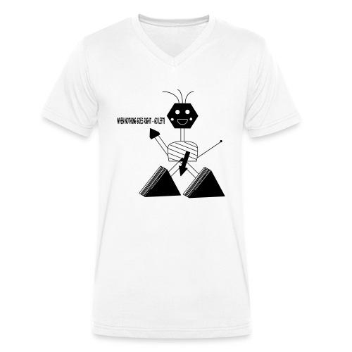 Roboter - Männer Bio-T-Shirt mit V-Ausschnitt von Stanley & Stella