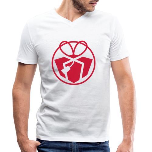 Christmas Gift Avatar - Men's Organic V-Neck T-Shirt by Stanley & Stella
