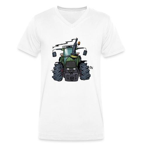 0224 F 3089 - Mannen bio T-shirt met V-hals van Stanley & Stella