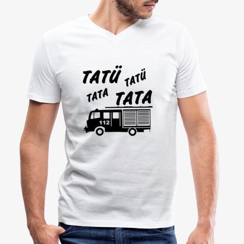Tatü Tata - Männer Bio-T-Shirt mit V-Ausschnitt von Stanley & Stella