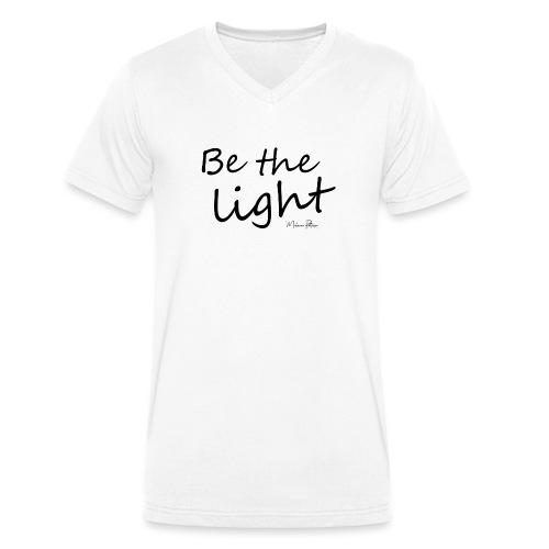 Be the light - T-shirt bio col V Stanley & Stella Homme
