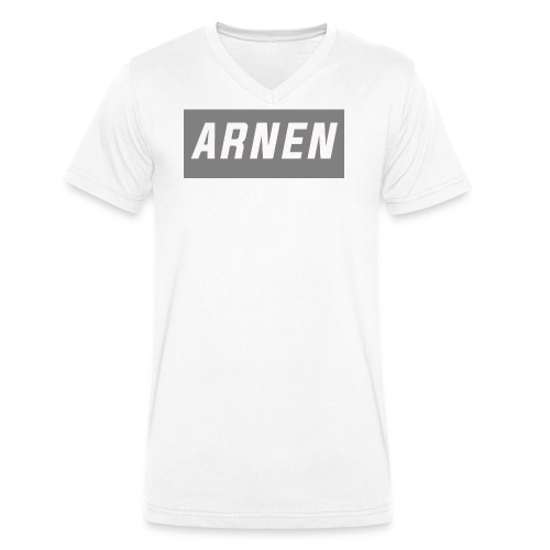 ARNEN - Ekologisk T-shirt med V-ringning herr från Stanley & Stella
