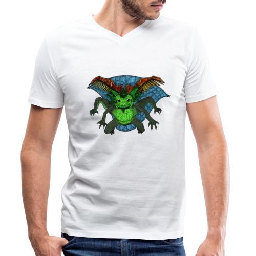 191213 umatodo color - Camiseta ecológica hombre con cuello de pico de Stanley & Stella