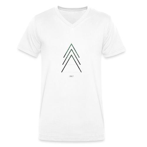 TREE - T-shirt ecologica da uomo con scollo a V di Stanley & Stella