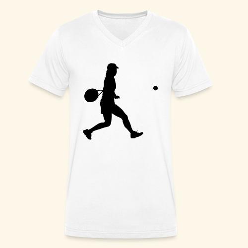 tennis woman 2 - T-shirt bio col V Stanley & Stella Homme