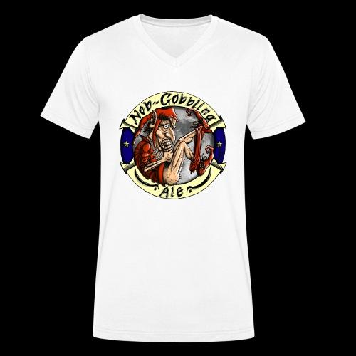 Goblin Ale T-Shirt - Men's Organic V-Neck T-Shirt by Stanley & Stella
