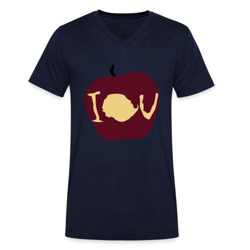 IOU (Sherlock) - Men's Organic V-Neck T-Shirt by Stanley & Stella