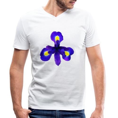 TIAN GREEN Garten - Iris 2020 01 - Männer Bio-T-Shirt mit V-Ausschnitt von Stanley & Stella