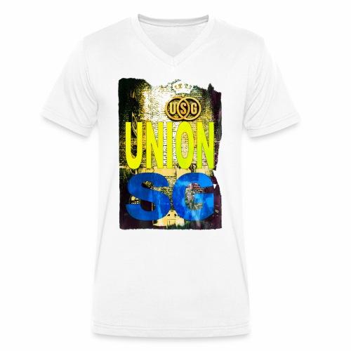 UNION SG - Mannen bio T-shirt met V-hals van Stanley & Stella