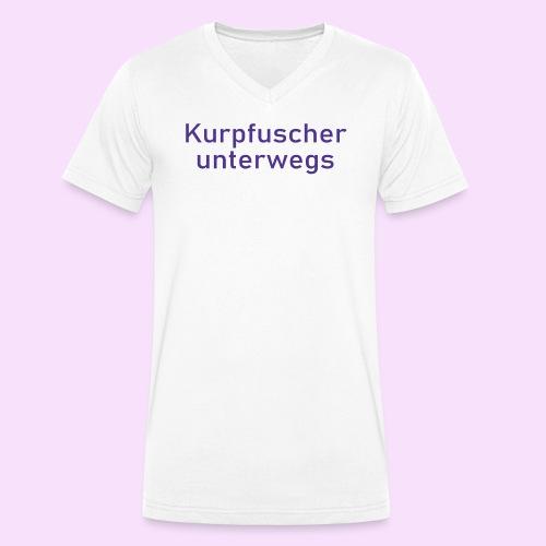 Kurpfuscher unterwegs - Das Robert Franz T-Shirt - Männer Bio-T-Shirt mit V-Ausschnitt von Stanley & Stella