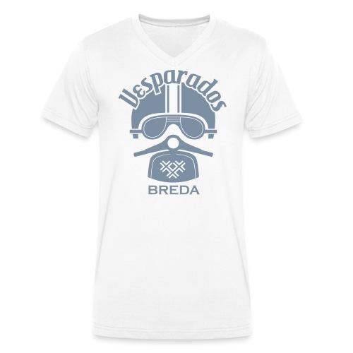 Vesparados breda - Mannen bio T-shirt met V-hals van Stanley & Stella