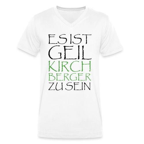 GeilKirchbergerzusein Pfa - Männer Bio-T-Shirt mit V-Ausschnitt von Stanley & Stella