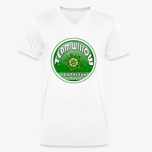 TEAM WILLOW - Men's Organic V-Neck T-Shirt by Stanley & Stella