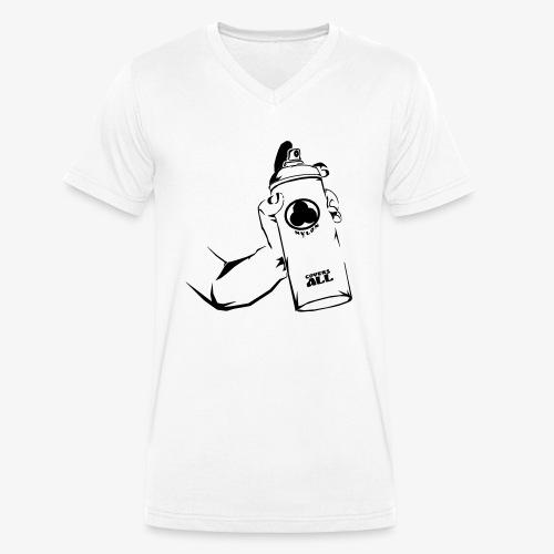 writers can spray - Männer Bio-T-Shirt mit V-Ausschnitt von Stanley & Stella