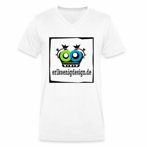 logo2018 shirts copy - Männer Bio-T-Shirt mit V-Ausschnitt von Stanley & Stella