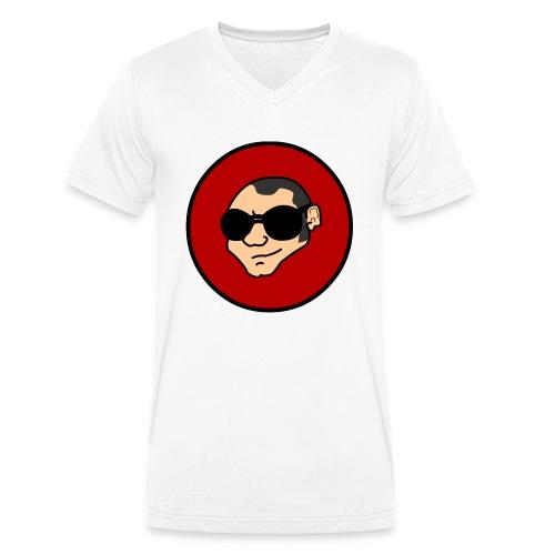 Logo cazzimma PNG - T-shirt ecologica da uomo con scollo a V di Stanley & Stella