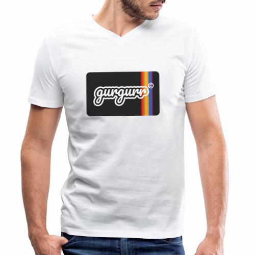 Queer Pigeon - Männer Bio-T-Shirt mit V-Ausschnitt von Stanley & Stella