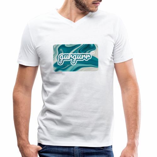 Flow Pigeon - Männer Bio-T-Shirt mit V-Ausschnitt von Stanley & Stella