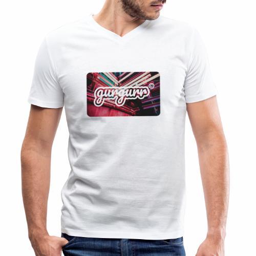 Street Pigeon - Männer Bio-T-Shirt mit V-Ausschnitt von Stanley & Stella