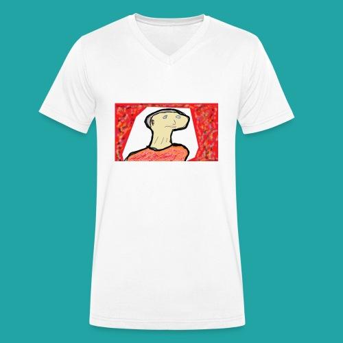 Old Grandpa - Økologisk Stanley & Stella T-shirt med V-udskæring til herrer
