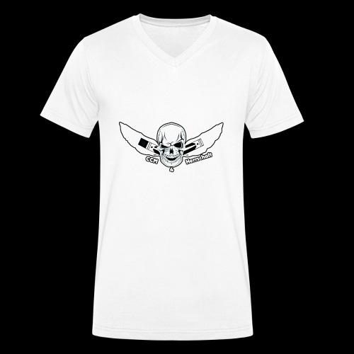Ccm4Herrschaft - Männer Bio-T-Shirt mit V-Ausschnitt von Stanley & Stella