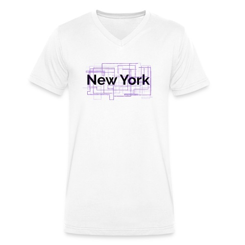 collection New York - T-shirt bio col V Stanley & Stella Homme