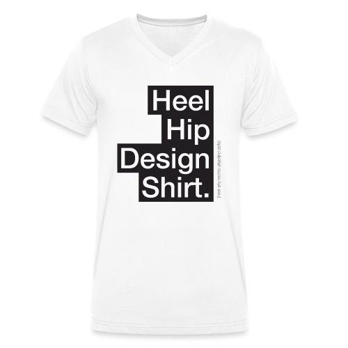 Heel hip - Mannen bio T-shirt met V-hals van Stanley & Stella