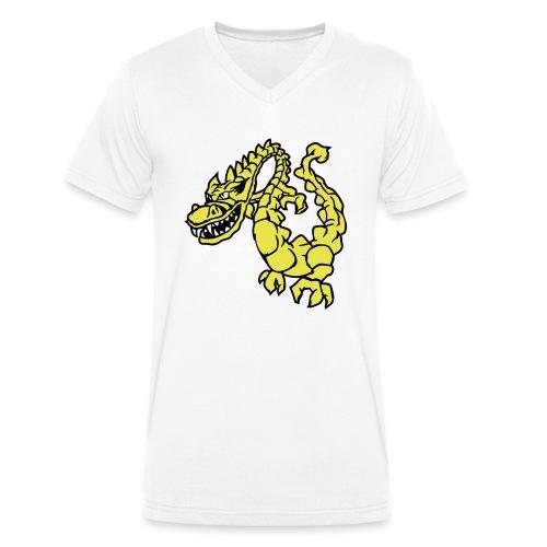 Drache 2 - Männer Bio-T-Shirt mit V-Ausschnitt von Stanley & Stella