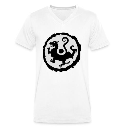 Warframe Shenmue Clan - Männer Bio-T-Shirt mit V-Ausschnitt von Stanley & Stella