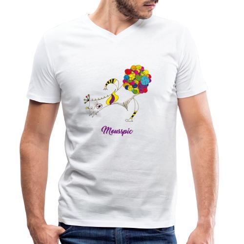 Mousspic - T-shirt bio col V Stanley & Stella Homme