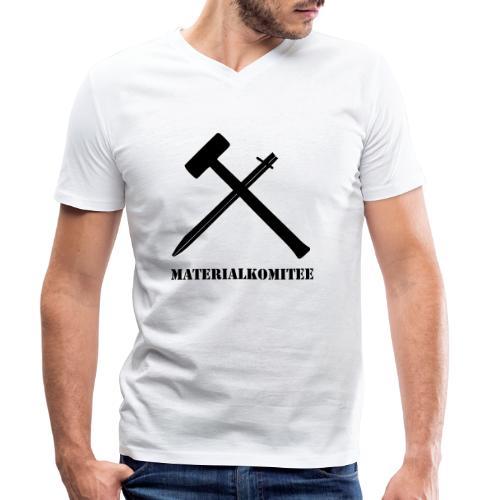 Materialkomitee - Männer Bio-T-Shirt mit V-Ausschnitt von Stanley & Stella