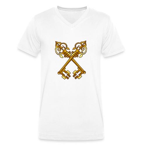 Sweat Membre SDP (Avec votre prénom) - T-shirt bio col V Stanley & Stella Homme