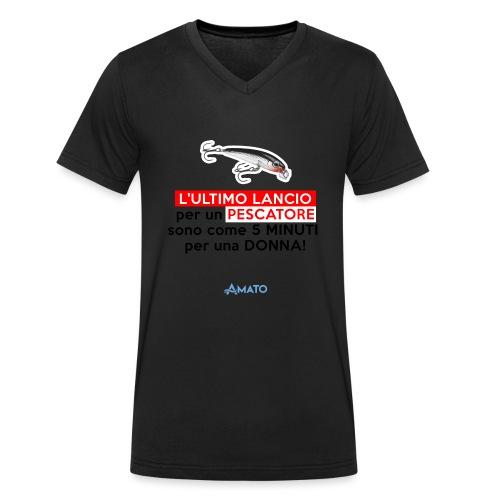 L'ultimo lancio - T-shirt ecologica da uomo con scollo a V di Stanley & Stella