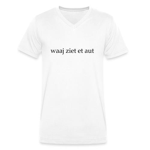 waaj ziet et aut - Mannen bio T-shirt met V-hals van Stanley & Stella