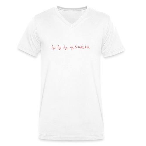 Lifeline Anais - Männer Bio-T-Shirt mit V-Ausschnitt von Stanley & Stella