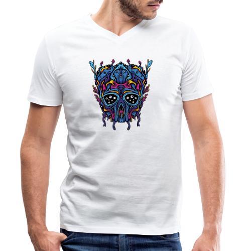 Expanding Visions - Men's Organic V-Neck T-Shirt by Stanley & Stella