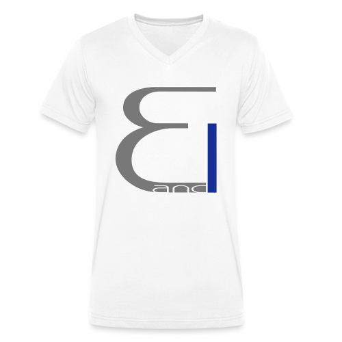 single logo - Männer Bio-T-Shirt mit V-Ausschnitt von Stanley & Stella