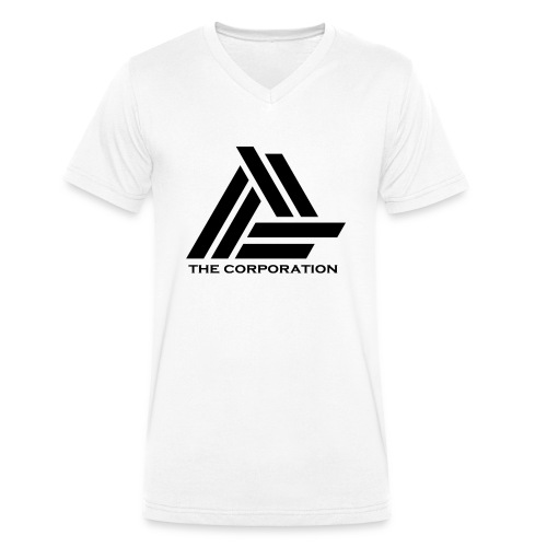zwart metnaam keertwee png - Men's Organic V-Neck T-Shirt by Stanley & Stella