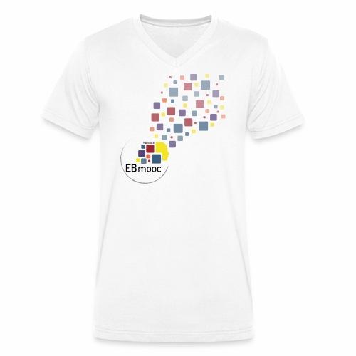 EBmooc T-Shirt 2018 - Männer Bio-T-Shirt mit V-Ausschnitt von Stanley & Stella