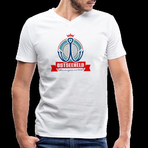 geweihbär Ostseeheld - Männer Bio-T-Shirt mit V-Ausschnitt von Stanley & Stella