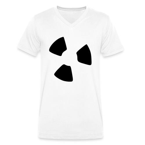 Atom - Männer Bio-T-Shirt mit V-Ausschnitt von Stanley & Stella