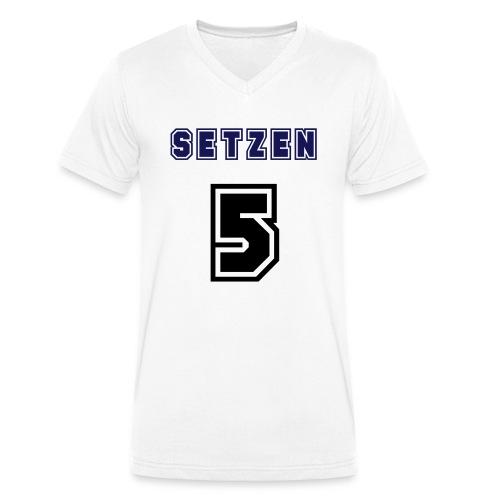 5 - Männer Bio-T-Shirt mit V-Ausschnitt von Stanley & Stella