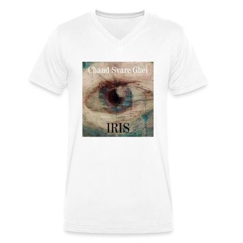 Iris - Økologisk T-skjorte med V-hals for menn fra Stanley & Stella